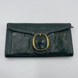 Coach Tri-fold Patent Leather Wallet